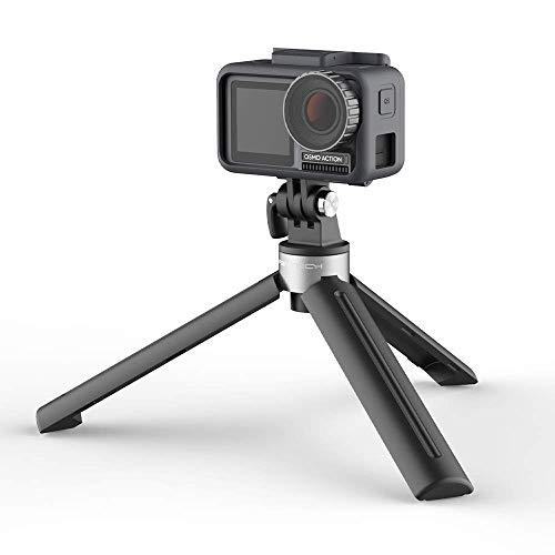 ACHICOO P-G-Y-TE-CH Tripod Mini Handvat Compatibel met D-J-I O-s-m-o Pocket/GoPro/Action Camera 1/4 Draad Poort voor Expansie Accessoires