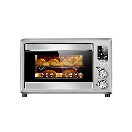 Elektrische oven Multi-Functie Automatische Mini Oven, 40 Liter Capaciteit En Elektronische Thermostaat, Gebraden Kippenvleugels Bakken Multi-Functie Oven, Afmetingen: 32 * 35 * 33Cm