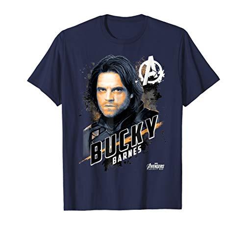 Marvel Avengers Infinity War Bucky Barnes Graphic T-Shirt