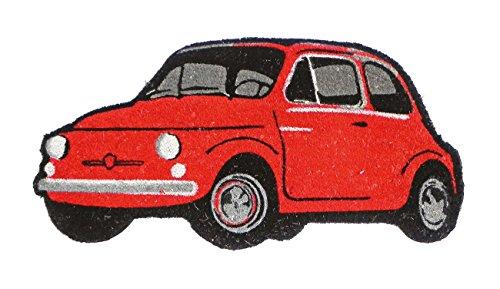 Tapis de Sol Fiat 500 Rouge