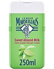 LE PETIT MARSEILLAIS, Shower Cream, Sweet Almond, Extra Gentle