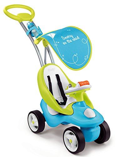 Smoby - 720101 - Porteur Enfant Evolutif 2 en 1 Bubble Go - Bleu