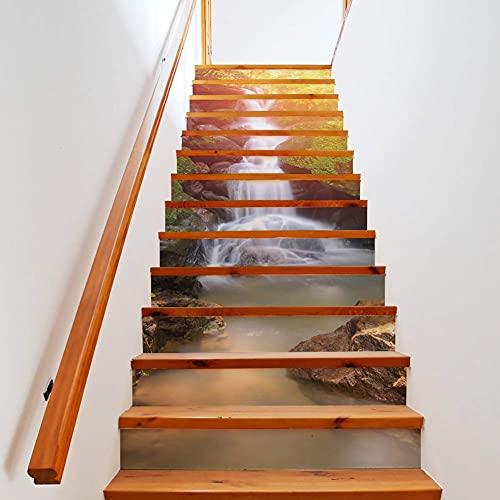 Adhesivos para azulejos - Adhesivo extraíble autoadhesivo para azulejos de pared Subway Backsplash Adhesivo de pared Retardante de azulejos Papel tapiz 3D para, escaleras, decoración del hogar