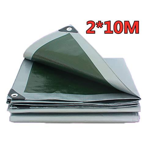 Mehrzweck-wasserdichter Poly Tarp Cover Zeltschutz Camping Plane Dickes wasserdichtes UV-beständiges Zelttuch(3m x 4m)