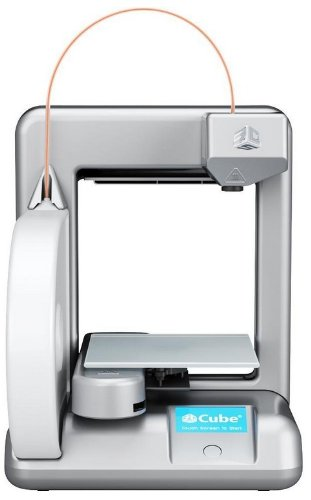 Cubify 3D-printer Cube, zilver.