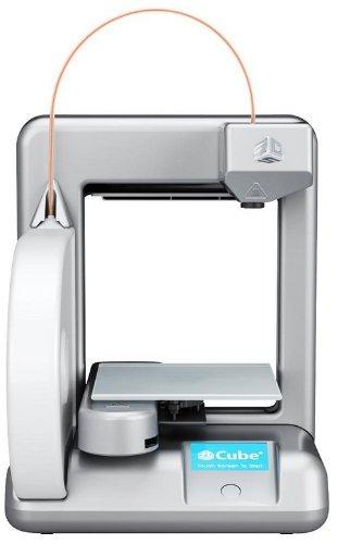 Cubify 381000 Cube 3D 2ª generación - Impresora 3D (WiFi, Plug & Play) [importado, enchufe UK], color plateado