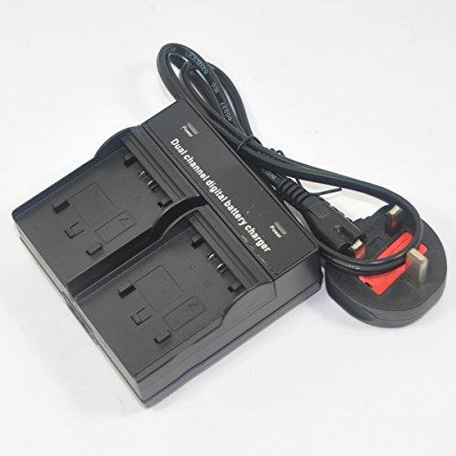 CARGADOR para JVC gr-d-720-ex gr-d-740-ex gr-d-770-ex gs-td-1 gs-td-1-beu Batería