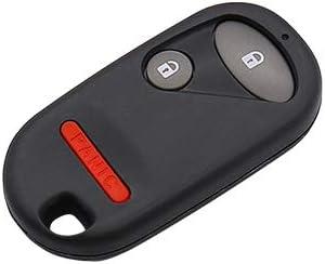 DRIVESTAR Keyless Entry Remote Car Key Fob Replacement for Honda Civic EX LX DX 2001 2002 2003 2004 2005 Honda Pilot 2003 2004 2005 2006 2007 NHVWB1U521, NHVWB1U523