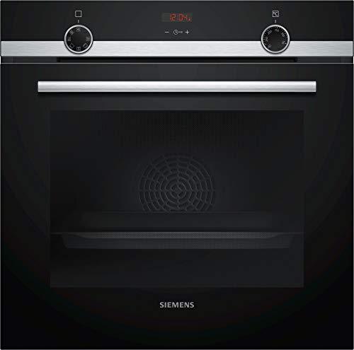 Siemens iQ300 HB513ABR1 - Horno (Grande, 71 L, 275 °C, Negro, Botones, Giratorio, Frente)