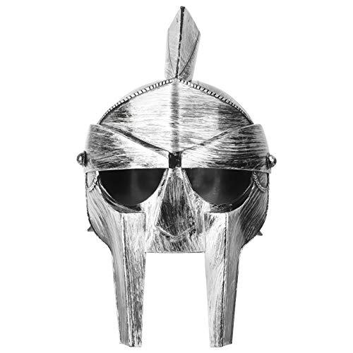 SOIMISS Mittelalterliche Ritter Kreuzritter Kostüm Helm Herren Norman Krieger Helm