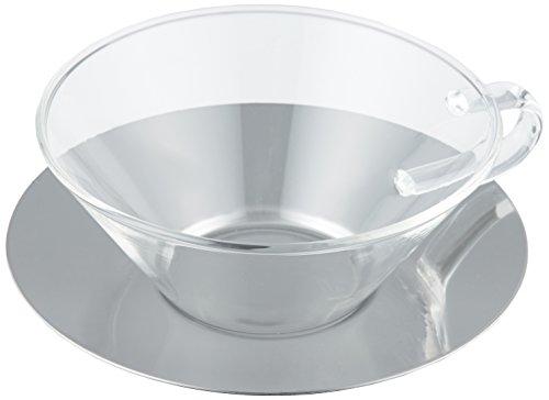 石塚硝子 LAVIAカップ&ソーサーシャロウステン 1個