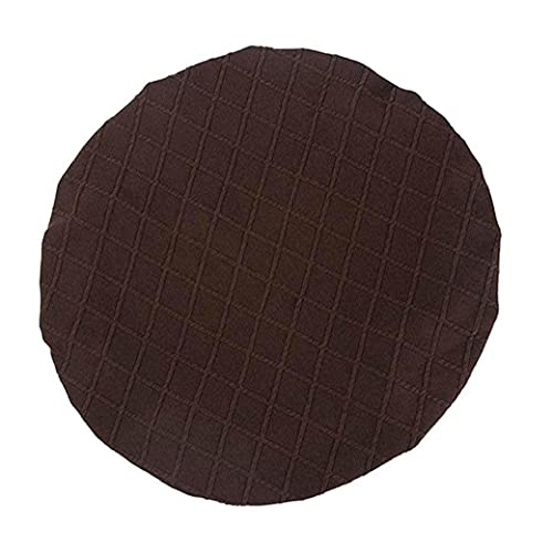 Stretch Spandex Dining Room Chair Seat Cover Slipcovers Wedding Party Decor - Brown