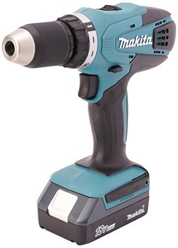 Makita FD04 Atornillador 1/2' V V R 0-400 / 0-1,400 RPM, 42/24Nm Li-ion 1.3 Ah 18V