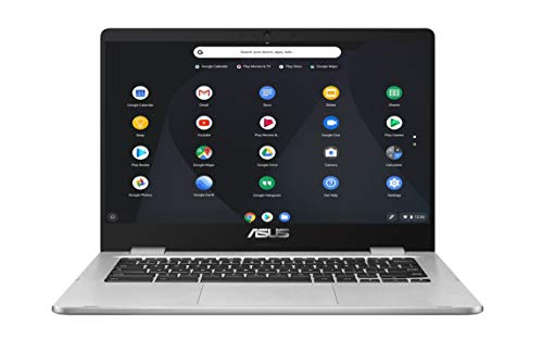 ASUS Chromebook C423NABV0044 Ordinateur Portable 14'' HD (Pentium N4200, RAM 8Go, 64Go EMMC, Chrome...