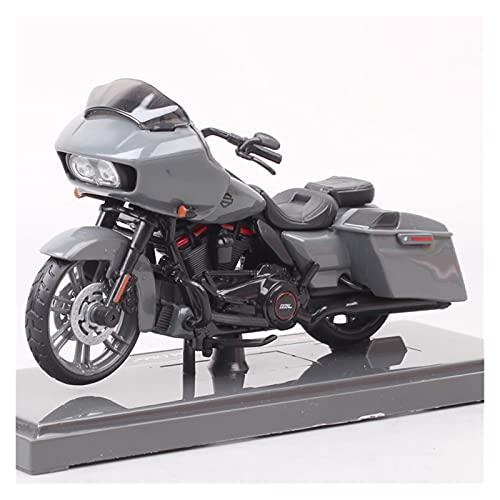El Maquetas Coche Motocross Fantastico 1:18 Para 2018 Road Glide CVO Bike Diecast Motocicleta Vehículo Juguete Regalo La Motocicleta Modelo Aleación Simulación En Miniatura Regalos Juegos Mas Vendidos