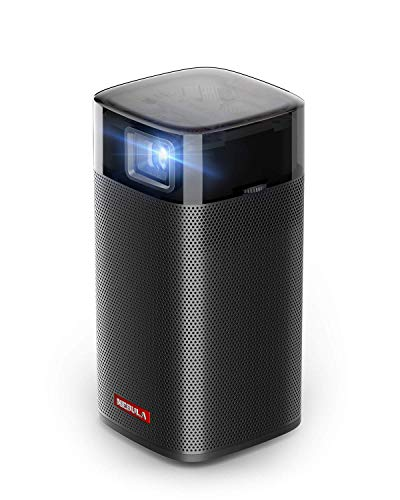 Anker Nebula Apollo, Wi-Fi Mini Projector, 200 ANSI Lumen Portable Projector, 6W Speaker, Movie Projector, 100 Inch Picture, 4-Hour Video Playtime, Outdoor Projector—Watch Anywhere (Renewed)