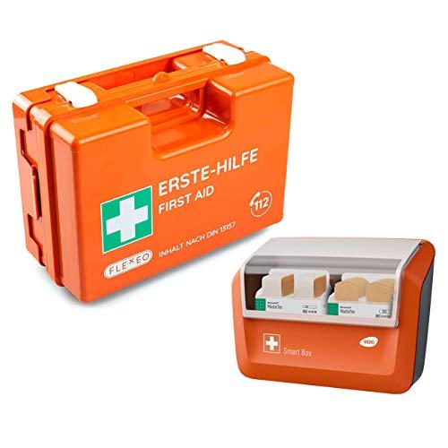 FLEXEO-Erste-Hilfe-Koffer-Set DIN 13 157 (inkl. gefülltem WERO Pflasterspender)