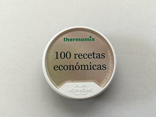 100 Recetas digital original Vorwerk Thermomix Económicas mecánica TM5 chip receta chip