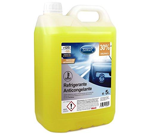 Tamar Refrigerante/Anticongelante 30% Orgánico, 5 litros