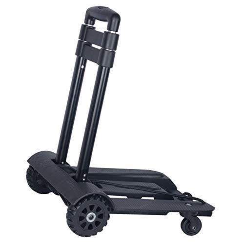 Carritos para equipaje Carretilla Carro De La Compra Negro Diseño De Ruedas...