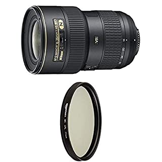 Nikon AF-S FX NIKKOR 16-35mm f/4G ED Vibration Reduction Zoom Lens with Auto Focus for Nikon DSLR Cameras with Circular Polarizer Lens - 77 mm (B079JH8H3N) | Amazon price tracker / tracking, Amazon price history charts, Amazon price watches, Amazon price drop alerts
