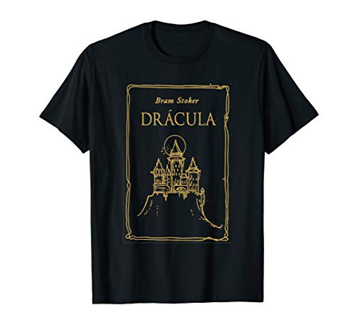 Bram Stoker's Dracula 1897 original book cover T shirt T-Shirt