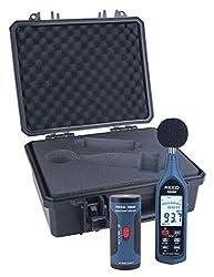 REED Instruments R8080-KIT Data Logging Sound Level Meter and Calibrator Kit