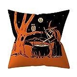 Zegeey Halloween KissenbezüGe Hausdekoration Kissenbezug Festlich Kreative SchöNe Autos Couch...