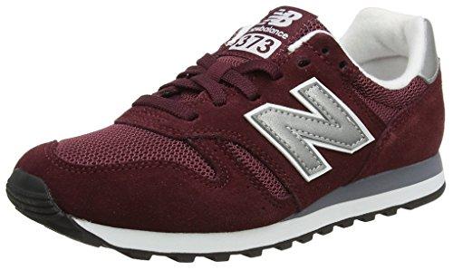 New Balance ML373, Zapatillas para Hombre, Rojo (Burgundy/Silver), 44.5 EU