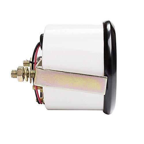 Praktisch 2Inch 52mm Universal Auto Kraftstoffschicht Öldruckmessgerät Meter Kraftstoff Float Sensor E-1/2-F Zeiger 12V für Bootsauto Motorrad Erkennen.