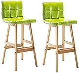 Sillas De Barra De Mostrador De Taburetes De Bar A Conjunto de taburetes de contador industrial moderno de 2, cocina de barra de altura cuadrada de cocina, sillas clásicas de bar con asiento de pubs d