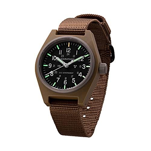 Marathon Watch WW194003 General Purpose Mechanical (GPM) Military Field Watch with Tritium and...