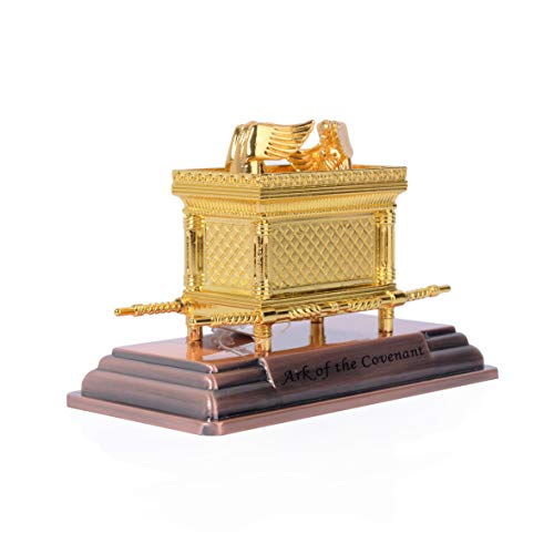 The Ark of The Covenant Replica Statue Gold Plated (Small)