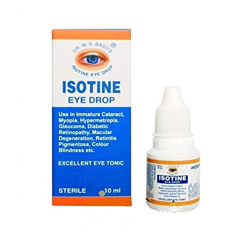 Isotine Eye Drops 10 Mililitre Ayurvedic Eye Drops Eye Care