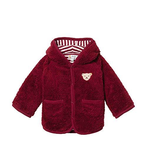 Steiff Baby-Mädchen Strickjacke, Rot (BEET RED 4010), 68 (Herstellergröße:68)