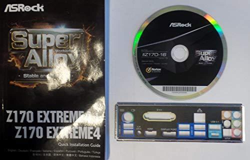 ASRock Z170 Extreme4 - Handbuch - Blende - Treiber CD #306982