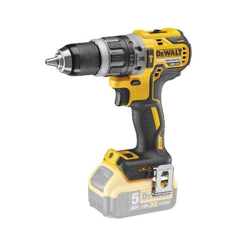 DEWALT DCD796N 18v XR Brushless Compact Combi Drill Body T-Stack Heavy Duty Case & Inlays, 18 V