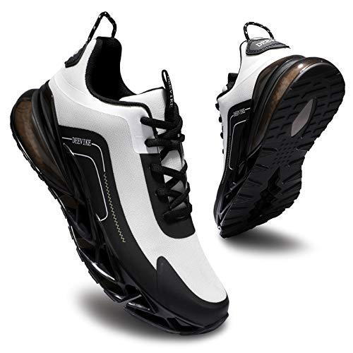 Deevike Zapatillas de deporte para mujer, zapatillas de deporte, zapatillas de tenis, senderismo, antideslizantes, resistentes a los golpes, color, talla 38 EU