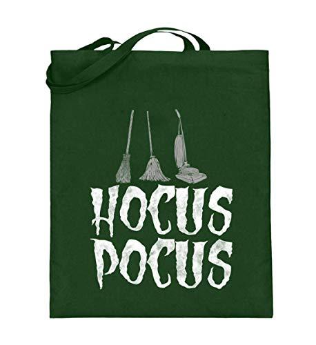 SwayShirt Hocus Pocus Halloween Lustiges Besen Wischmopp Staubsauger Hexe Witches Verhext T-shirt - Jutebeutel (mit langen Henkeln)
