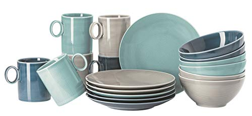 Rosenthal 11900-401923-28421 Loft Colour Mix - Juego de 18 piezas (1 unidad)