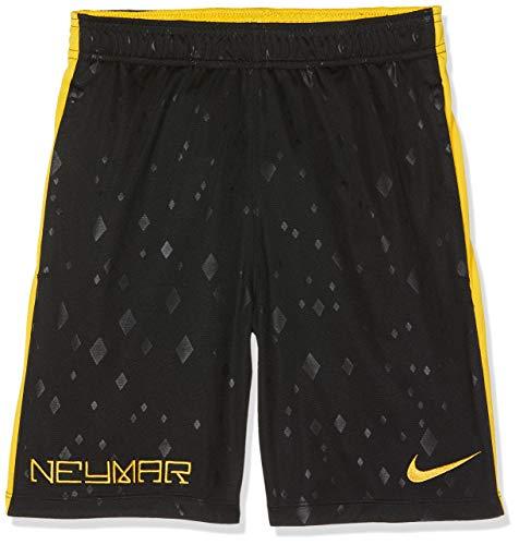 Nike kurze 7 Zoll Distance, Pantalones cortos de baloncesto para Hombre, Color Negro y Amarillo, Talla XXL