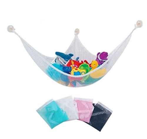 Coollooda Hamaca grande Teddy mantiene ordenado el dormitorio del bebé almacenamiento de malla niños muy adecuado para el jardín de infantes hamaca gigante de esquina de juegos se puede usar para
