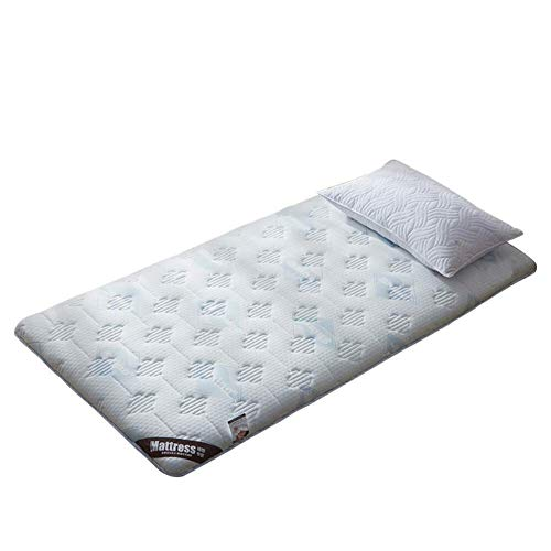 Tatami matras topper dikke luchtdoorlatende omkeerbare traagschuim matras pad Japanse vouwen studentenhuis vloermat (kleur: C Maat: 120x190x10cm) 90 x 200 x 10 cm.