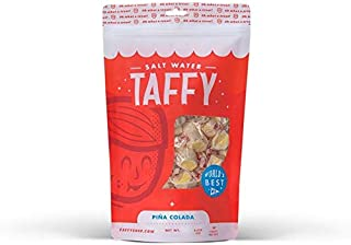 Taffy Shop Pina Colada Salt Water Taffy - 1 LB Bag