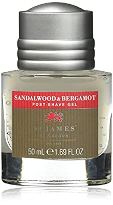 St James of London Sandalwood & Bergamot Small Post-Shave Gel