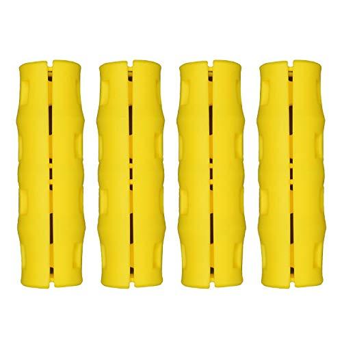 Snappy Grip Yellow Ergonomic Replacement Bucket Handles 4 Pack