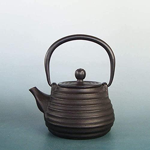 Conjuntos de té de hierro fundido hierro fundido hervidor de hierro hierro antiguo hervidor de hierro hervidor de agua hirviendo 500 ml olla de té