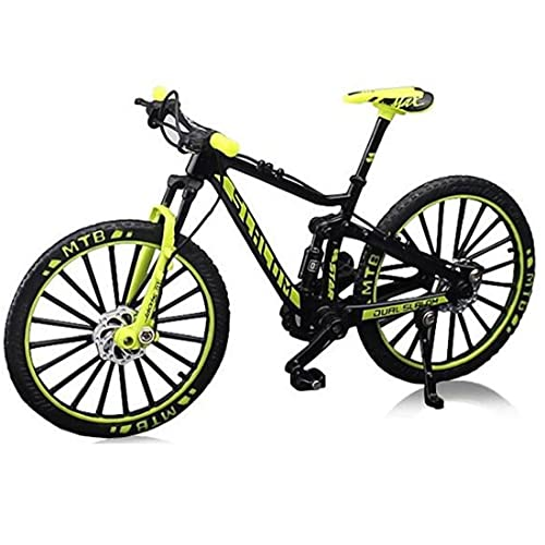 1pc Dedo De Bicicletas En Miniatura De Metal De Juguete Modelo De Simulación De Juegos De Regalo del Juguete De Los Niños