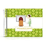 Best Optometrist Gifts Ideas - Say Thank You with Humor to Your Favorite Eye Doctor with This Special Booklet - This Unique Gift Includes Stickers, Funny Jokes, Quotes and a Great Matching Card.