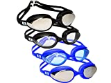 NAK Fitness Swim Goggles Anti Fog No Leaking Swimming Goggles for Men Women and Kids